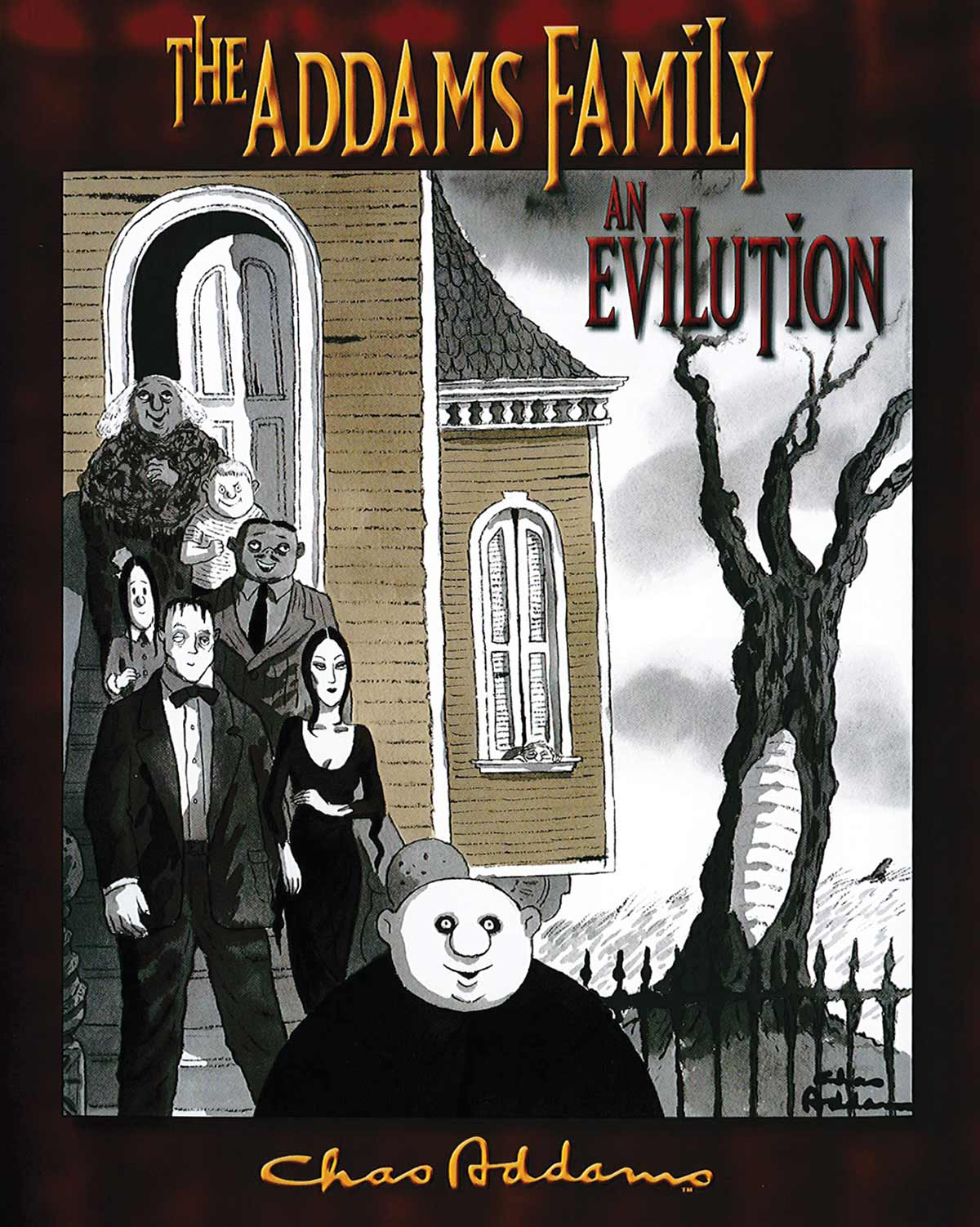 The Addams Family: An Evilution book cover.