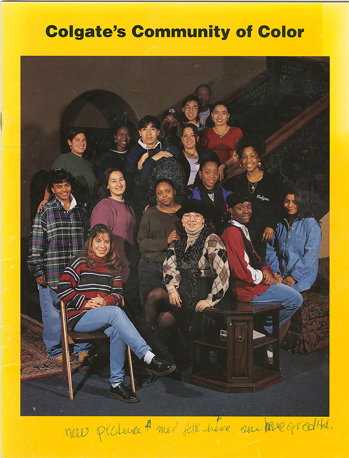 Cover of Communities of Color brochure, 1993