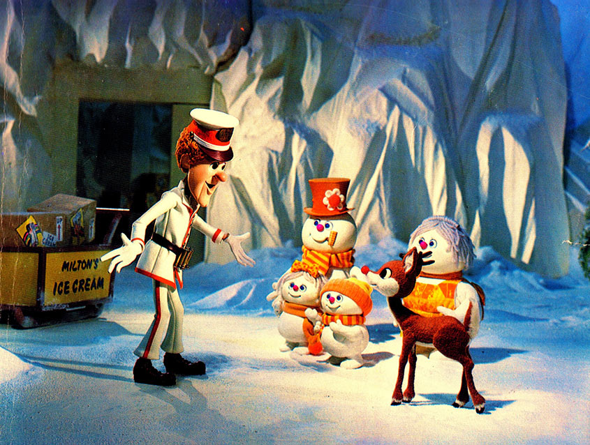 puppets from Rudolph and Frosty's Christmas in July