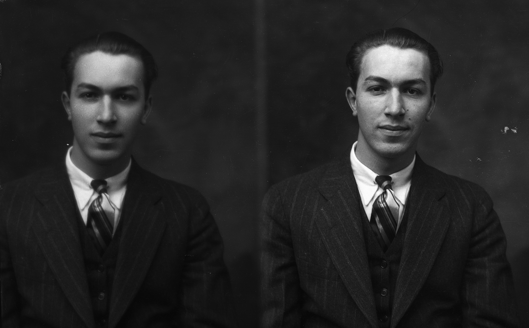 Adam Clayton Powell Jr. as a student at Colgate, circa 1930