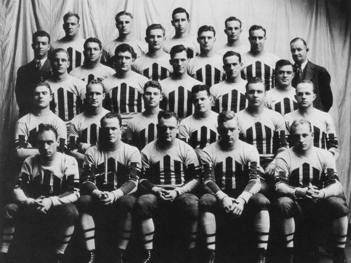 Colgate's Undefeated 1932 Football Team | Colgate at 200 Years