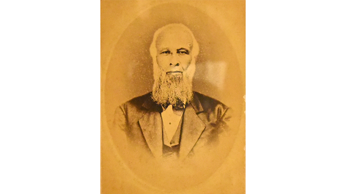 A photograph of Henry Livingston Simpson