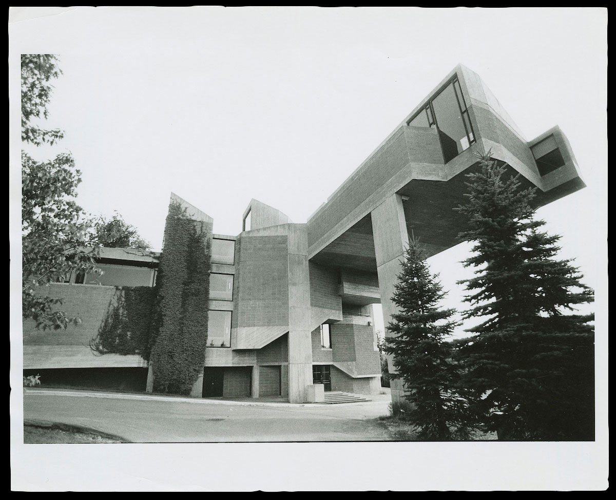 Archival image of Dana Arts Center