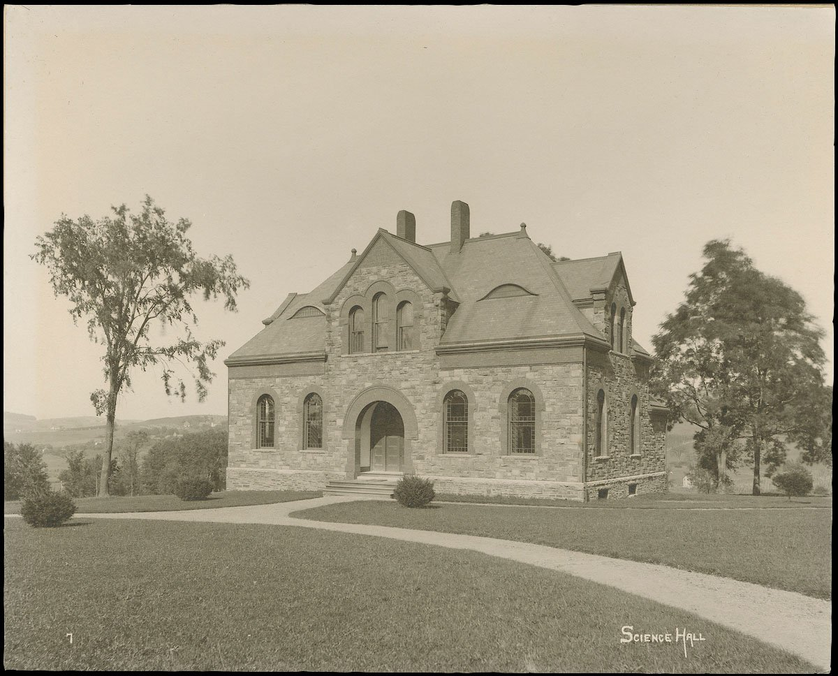 Archival image of Hascall Hall